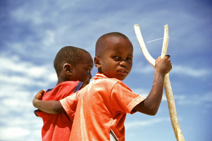Kids in Namibia