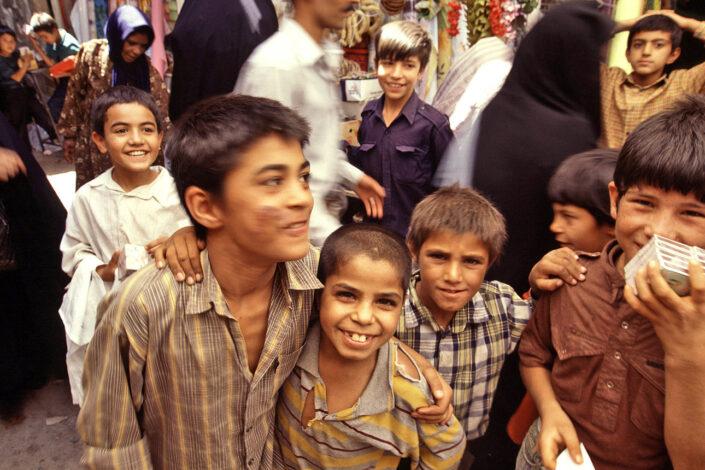 Iran, foto van kinderen