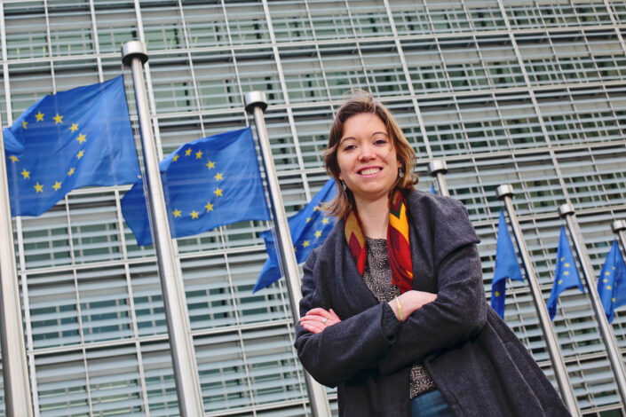 portretfoto op locatie Brussel