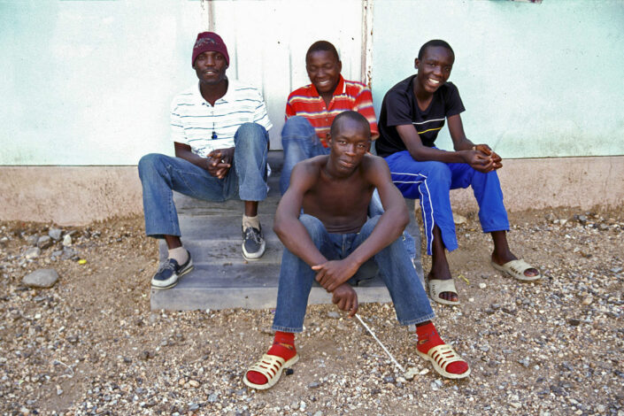 mensen fotografie in Namibie