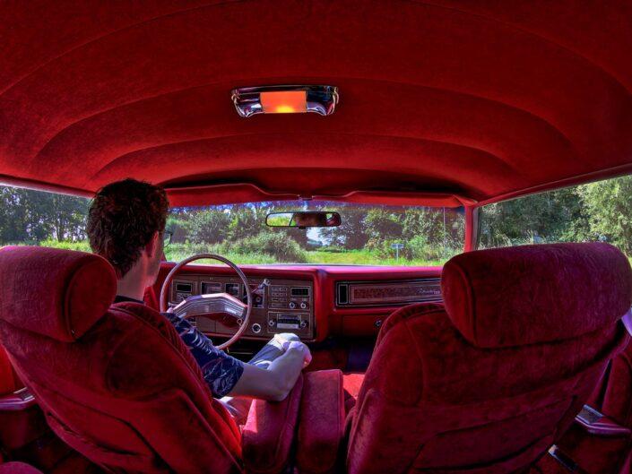 fotoserie met auto